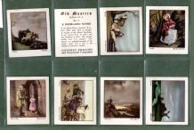 Cigarette cards Old Masters Famous paintings By Gainsborough & etc